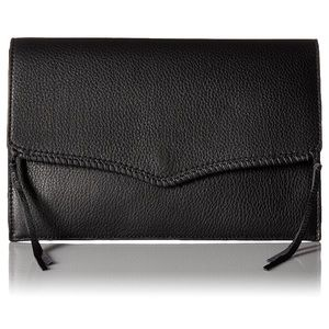 Rebecca Minkoff Black Leather Clutch